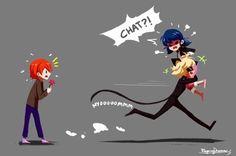 I think Adrien knows...<3 -Miraculous Ladybug