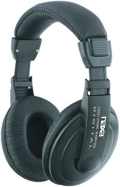 Naxa - Super Bass Professional Digital Stereo Headphones with Volume Control 405c9722a4
