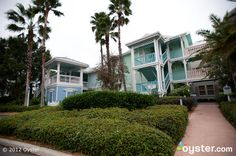 Buildings at the Disney's Old Key West Resort