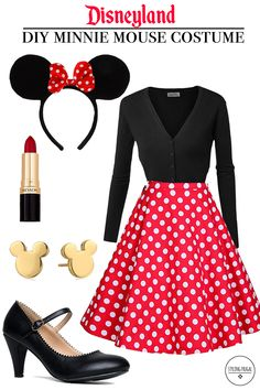 Minnie Mouse Outfit Ideas Collection diy minnie mouse costume on a budget styling frugal Minnie Mouse Outfit Ideas. Here is Minnie Mouse Outfit Ideas Collection for you. Minnie Mouse Outfit Ideas leggings minnie mouse mickey mouse minnie a. Minnie Mouse Halloween Costume, Easy Halloween Costumes For Women, Halloween Kostüm, Cool Costumes, Disney Costumes For Women, Woman Costumes, Couple Halloween, Adult Costumes, Mickey Mouse Kostüm
