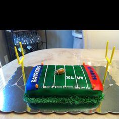Super bowl sunday cake