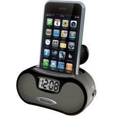 LCD Alarm Clock w Speakers
