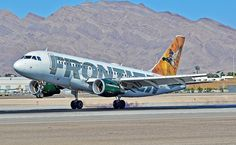 N953FR Frontier Airlines 2010   Airbus A319-112 C/N 4254