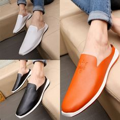 Fashion Slip On Soft Loafer Driving Leather Casual Sneakers Oxfords Men shoes B8 | Clothing, Shoes & Accessories, Men's Shoes, Casual | eBay!