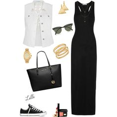 xoxo by lilli on Polyvore featuring moda, T By Alexander Wang, maurices, Converse, MICHAEL Michael Kors, Chloé, Jennifer Zeuner, Michael Kors, ChloBo and Ray-Ban