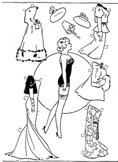 Mostly Paper Dolls Too!