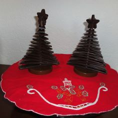 3D Tree chocolate - http://www.food4geek.it/le-ricette/dolci/3d-tree-chocolate/