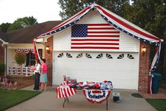 house decoration for homecoming or 4th of July