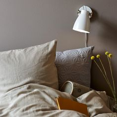 Largo wall lamp with the industrial look and raw screws is a beautiful contrast to the feminine decor. Largo provides a cozy lighting that fits nicely beside the bed or couch Exposed Brick Walls, Metal Walls, Plug In Wall Lights, Led Wand, Feminine Decor, Wall Fixtures, Wall Racks, Raw Wood, Lamp Design