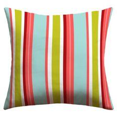 DENY Designs Caroline Okun Amagansett Outdoor Throw Pillow, 16-Inch by 16-Inch