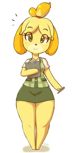 See more 'Isabelle' images on Know Your Meme! Animal Crossing Fan Art, Animal Crossing Memes, Comic Art Girls, Anime Furry, Furry Drawing, Cute Images, Anime Chibi, Furry Art, Cartoon Art