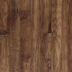 Best described as perfectly rustic, Mountain View is a 5-inch hickory that features artisan hand scraping and hand staining. With handsome character anddramatic graining, this pattern is available in 3 warm colors.