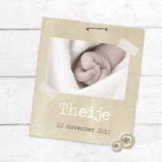Geboortekaartje Theije