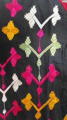 Superb Vintage Handstitched hand embroidered Swat Valley Tunic WOVENSOULS.COM #textiles #art #antiques #vintage