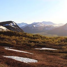 The Abisko National Park up north in #Sweden is breathtaking...big sky and…