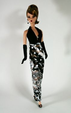 Chic in Black and White by ChicBarbieDesigns on Etsy, $15.99