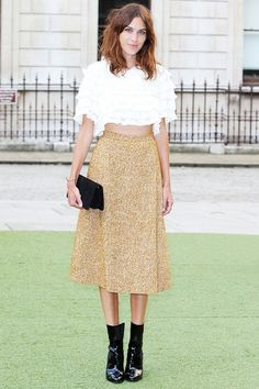From playful pleats to flirty hemlines, these are the best (celebrity approved) skirts to try this summer. // #AlexaChung #StyleTips