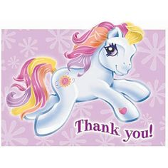 Cute My Little Pony #ThankYou Notes