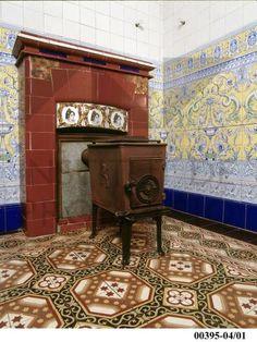 azulejos para chimeneas - Buscar con Google