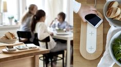 Always keen to keep up with the times, Ikea have just unveiled a new series of furniture and accessories which incorporate wireless charging pads for our smartphones. The charging pads comply with the Qi inductive. Ikea New, Interior Design Programs, Ikea Decor, Wireless Charging Pad, Scandinavian Home, Creative Decor, Good Company, Decoration, Decorating Tips