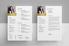 Minimal Resume/CV template to help you land that great job. Easily edit the typography, wording, colors and layout. Student Resume Template, Cv Template, Resume Templates, Typography, Lettering, I Appreciate You, Cover Letter For Resume, Resume Cv, Freelance Graphic Design
