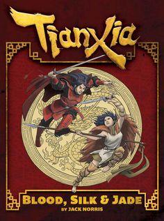 Tianxia: Blood, Silk & Jade Cover