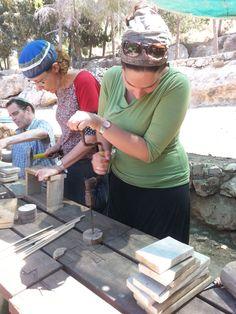 סדנת נגרות לארגונים - בניית מריצה  www.wood-lift.com