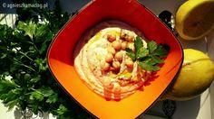 Hummus - bardzo dokładny przepis Agnieszki Maciąg