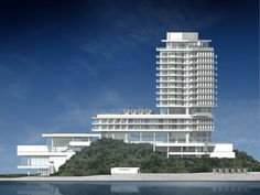 Seamarq Hotel, Gangneung South Korea | Richard Meier & Partners Architects
