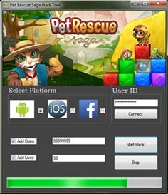 Pet Rescue Saga Hack http://gamesfixer.com/pet-rescue-saga-hack/