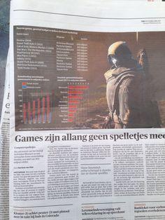 NRC 5 aug 2014 Games zijn allang geen spelletjes meer.