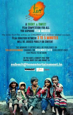 Short Film Competition for Children's Day