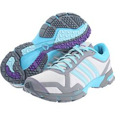 decorate tables with running shoes, headbands, watches, water bottles, etc