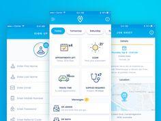 Medical App UI by Jake Ranallo