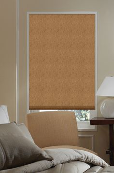 Lyon flat fold roman shades