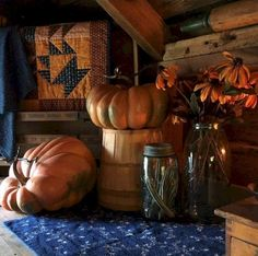 30+ IMPRESS RUSTIC HALLOWEEN DECORATION IDEAS