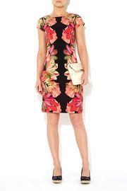 Mirror Floral Print Dress #WallisFashion