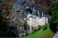 Predjama Medieval Castle Cave in Postojna Slovenia Europe
