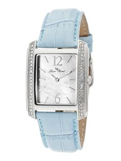 Lucien Piccard Watches Women's Coca Stainless Steel & Blue Leather Watch