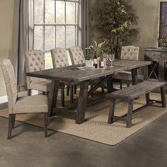 Laurel Foundry Modern Farmhouse Colborne Extendable Dining Table