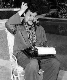 Multitasker Orson Welles