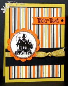TSSC281 Happy Halloween by stampercamper - Cards and Paper Crafts at Splitcoaststampers