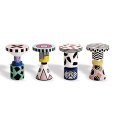 """""""Also in Saturday Selects: @annakarlinstudio's new collection, which includes this awesomely over-the-top version of her Chess Stools"""" Photo taken by @_sightunseen_ on Instagram, pinned via the InstaPin iOS App! http://www.instapinapp.com (06/08/2015)"""