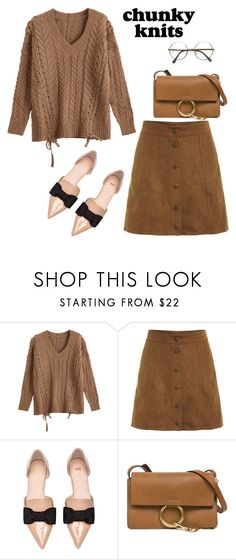 """untitled 556"" by deboraaguirregoncalves ❤ liked on Polyvore featuring H&M and Chloé"