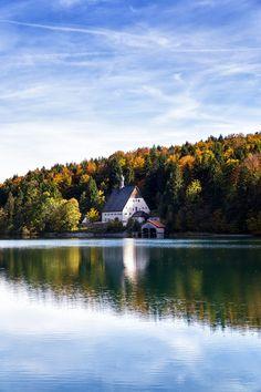 Klösterl Walchensee Walchensee (Kochel am See), Bayern