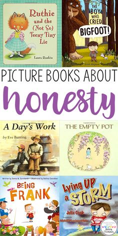 Honesty lesson plans and suggestions for activities and picture books. Teach your students why honesty is important. Character education in the classroom. Reading, writing, and discussing character education and honesty in the classroom. Kids Reading, Reading Activities, Sequencing Activities, Guided Reading, Reading Lists, Youth Activities, Reading Books, Reggio, Social Emotional Learning