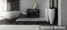 Image result for black and white mosaic floor tiles
