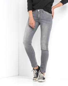 Scarlett Regular Waist Skinny | Used Grey