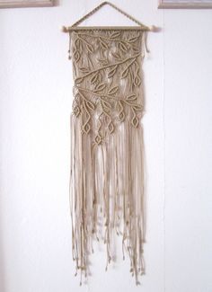Handmade Macrame Wall Handing  Branches  Macrame Home by craft2joy, $70.00