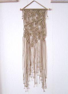 Handmade Macrame Wall Handing  Branches  Macrame Home by craft2joy.